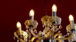 Lampe anschliessen - Kronleuchter