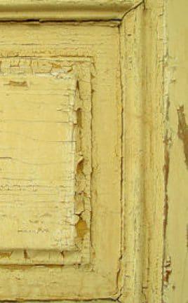 Alte Tür - Alte Farbe - Alter Lack