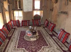 Arabisches Zimmer mit Lehmputz