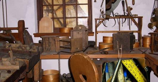 Der Heimwerker und seine Werkstatt