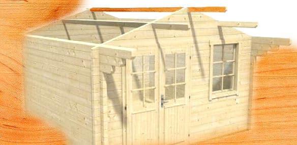 gartenhaus aufbauen. Black Bedroom Furniture Sets. Home Design Ideas
