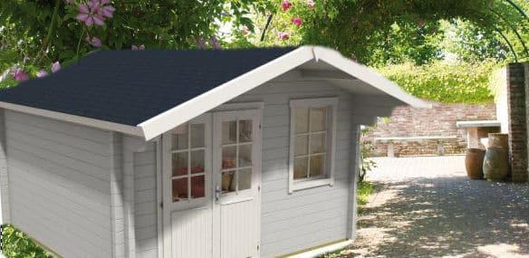 schritt f r schritt zum gartenhaus handwerker heimwerker. Black Bedroom Furniture Sets. Home Design Ideas