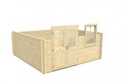 Gartenhaus aufbauen - der 3. Schritt