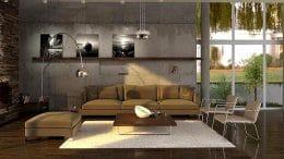 Led Lampen in der Wohnung
