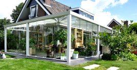 Eine Terrasse überdachen