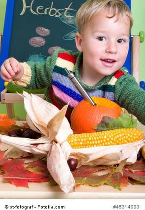 Bastelideen mit kindern im herbst for Herbst bastelideen mit kindern