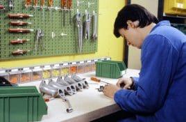 Werkzeug aufbewahren Wand