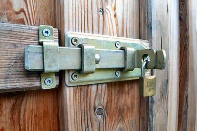 Türen sichern