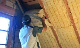 Dach dämmen zwischen Dachsparren
