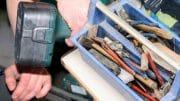 Werkzeug beisammen halten