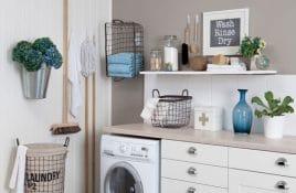 Waschküche schön einrichten