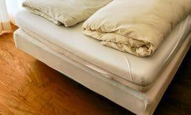 Beim Bauen des eigenen Bettes auf die Qualität der Matratze achten