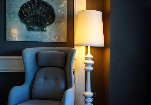 Licht im Wohnzimmer