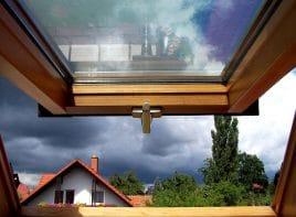 Dachfenster - offen