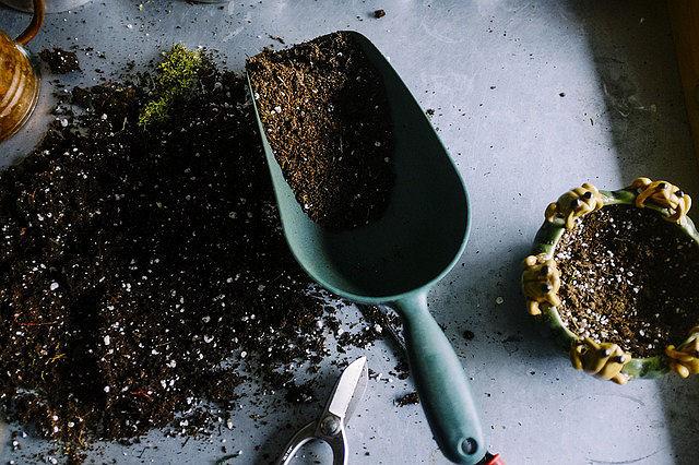 Werkzeuge für den Garten