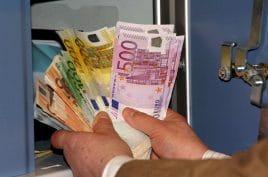 Geld gehört am besten sicher verwahrt.