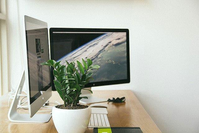 Computer Arbeitsplatz Im Bro