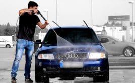 Auto vor dem Verkauf noch mal putzen