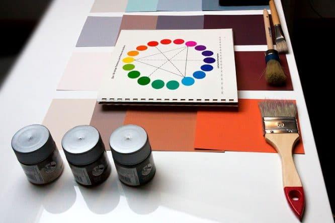 Farbe auswählen mit dem Farbkreis