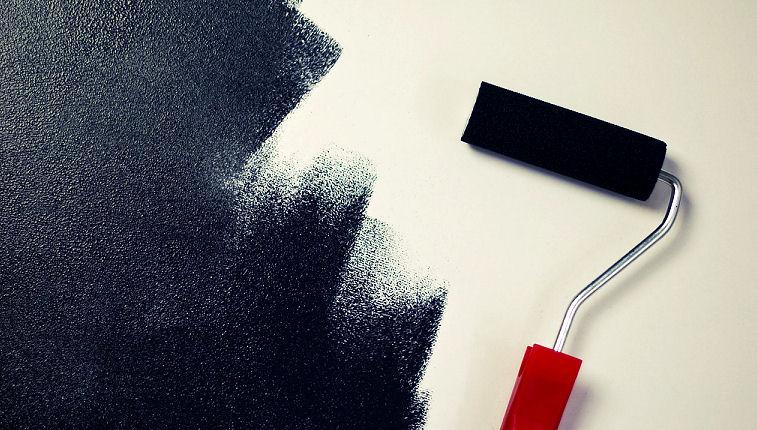 wand streichen. Black Bedroom Furniture Sets. Home Design Ideas