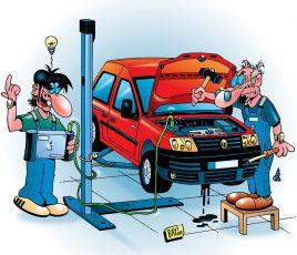 Gerätschaften und Werkzeuge wollen gepflegt sein, wenn sie auf Dauer halten sollen.
