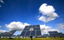 Strom aus Wind- und Sonnenenergie