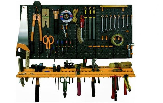 Werkzeug schön sortiert - so ist alles zu finden