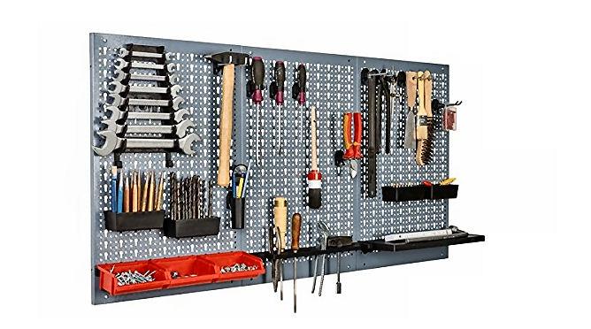 Werkzeugtafel oder Werkzeugwand