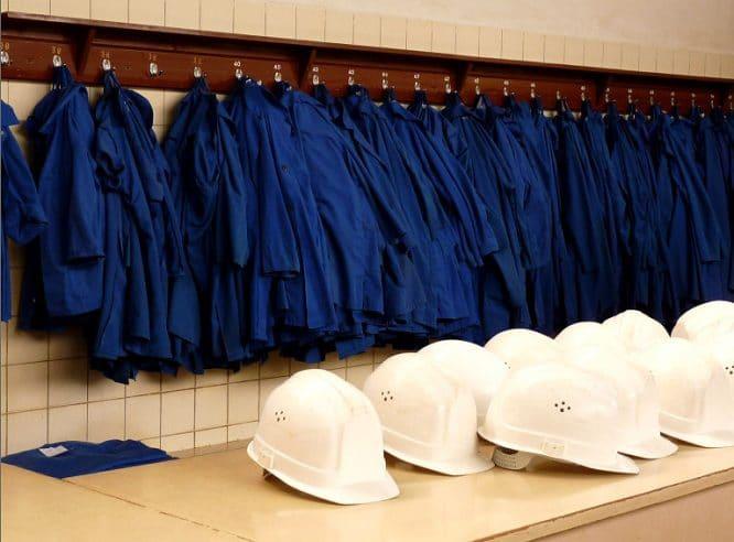 Praktische Arbeitskleidung