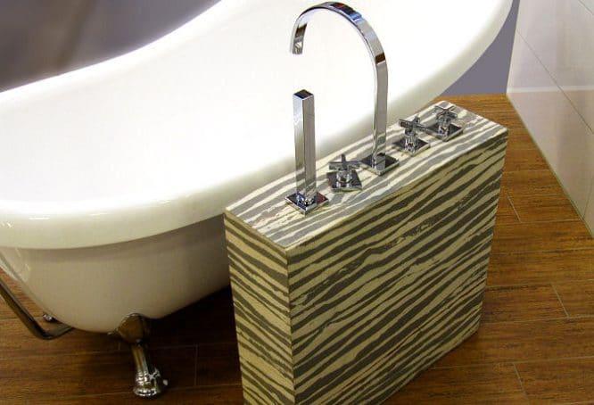 Auch das Badezimmer lässt sich modern und wohnlich gestalten.