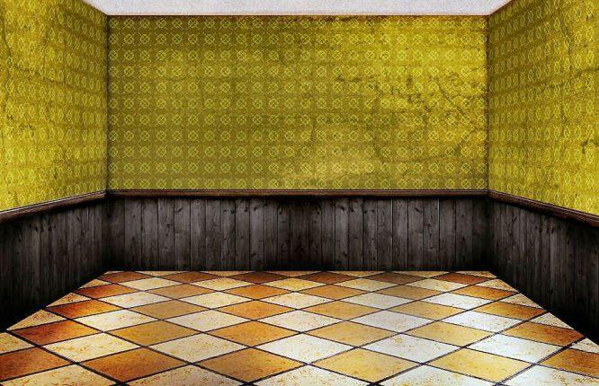 Fliesen sind zum Beispiel der richtige Bodenbelag für Fußbodenheizung.