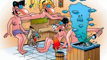 Sauna macht Spaß und ist gesund - es sei denn ....