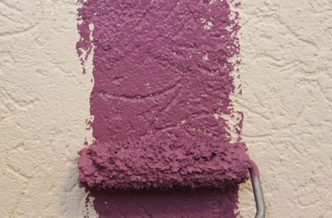Warum nicht mal violett?