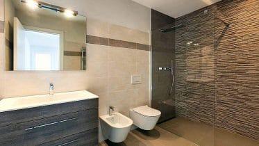 Eine Spiegelheizung im Bad