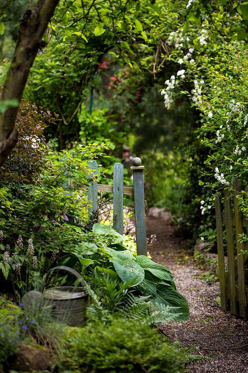 Der eigene Garten kann sehr liebevoll gestalten werden.
