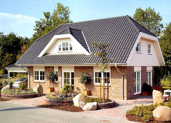 Moderne Haeuser - Haus in Bungalowform
