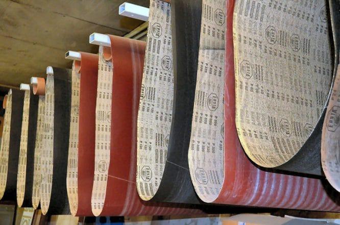 grobe Körnung - feine Körnunge - oder mittlere - für jeden Arbeitsschritt das richtige Schleifpapier