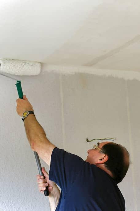 Tipps Zum Streichen Einer Betondecke Heimwerker Tipps