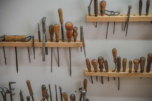 Werkzeug immer in Griffweite haben