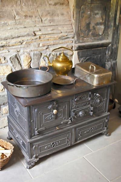 Eine hochmoderne Küche - vor langer Zeit!
