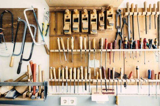 Ordnung und Sauberkeit in der Werkstatt