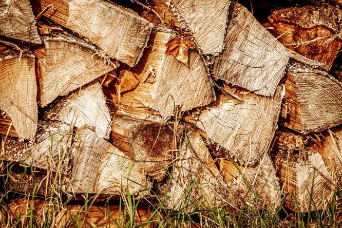 Klima schonendes Heizen mit Holzscheiten