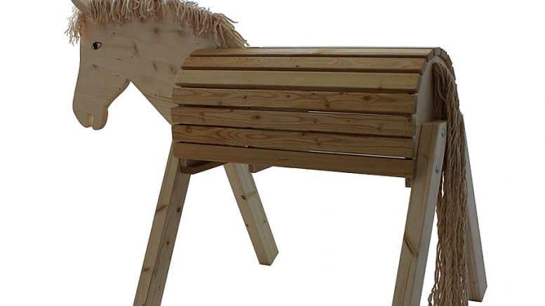 Voltierpferd / Voltigierbock selber bauen