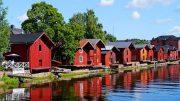 Was kann man aus Holz bauen - Traditionelle Häuser aus Holz in Finnland