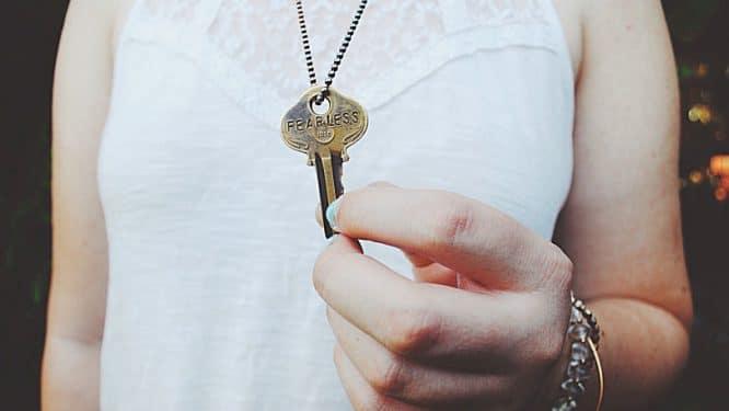 Den Schlüssel verloren haben - daraus kann man lernen.