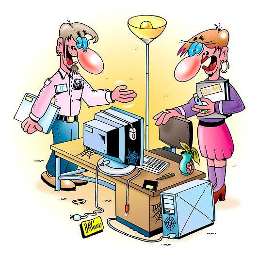 Den alten Rechner aufrüsten - möglichst noch bevor er Spinnenweben ansetzt.