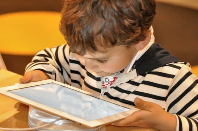 Digitale Geräte sauber halten - Tablet