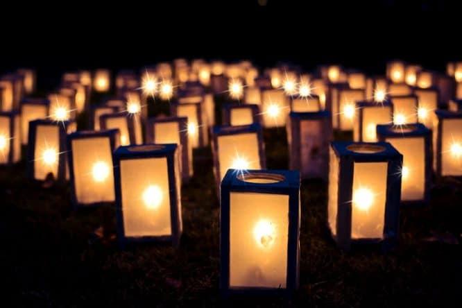 Licht in Gemeinschaft zur Weihnachtszeit
