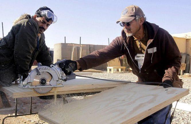 Sicherheit am Arbeitsplatz - besonders bei Sägearbeiten
