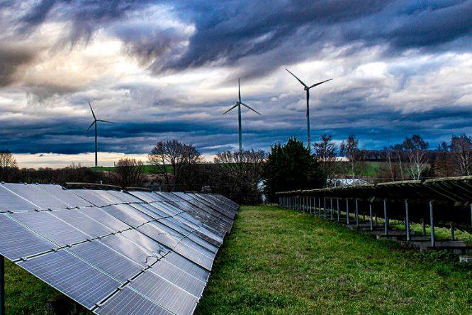 umweltfreundliches Heizen mit umweltfreundlichem Strom